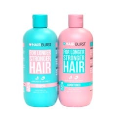 Set Hairburst Gội Xả For Longer Stronger Hair (Dầu Gội 350ml + Dầu Xả 350ml)