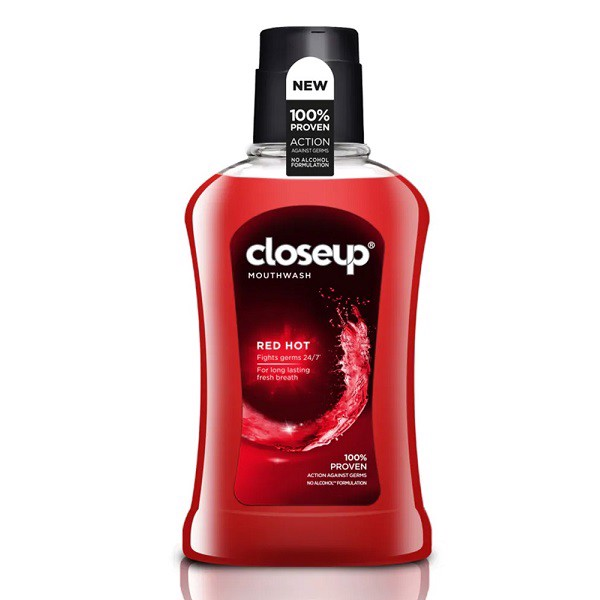 Nước Súc Miệng Close Up Red Hot 500ml (5871, 5873)