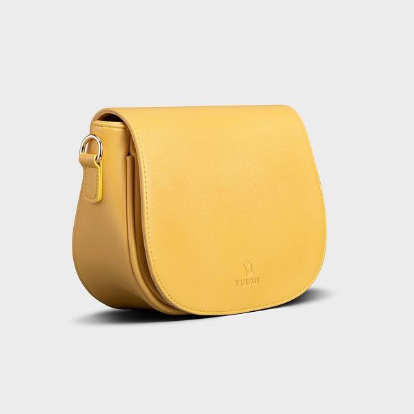 Hình ảnh Túi Đeo Chéo Thời Trang Yuumy Màu Vàng YN89V (Store 5703)