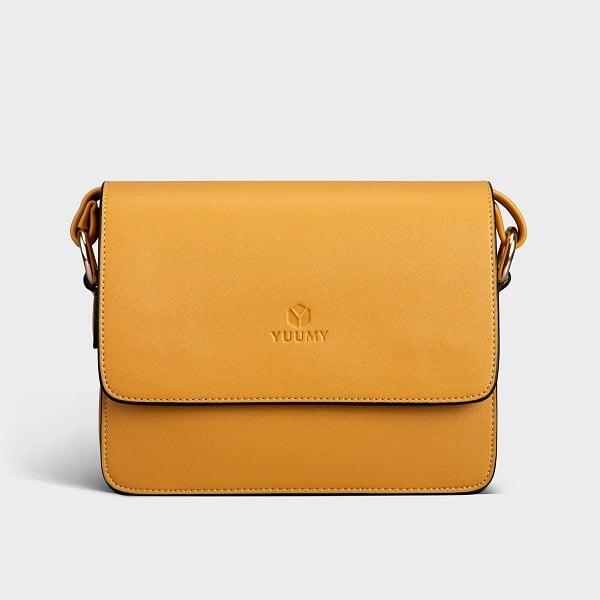Túi Đeo Chéo Thời Trang Yuumy Màu Vàng YN90V (Store 5703)