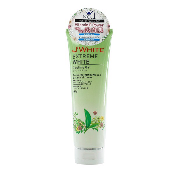 Gel Tẩy Tế Bào Chết Trắng Da J'White Extreme White Peeling Gel 180g (Store 5871,5873)