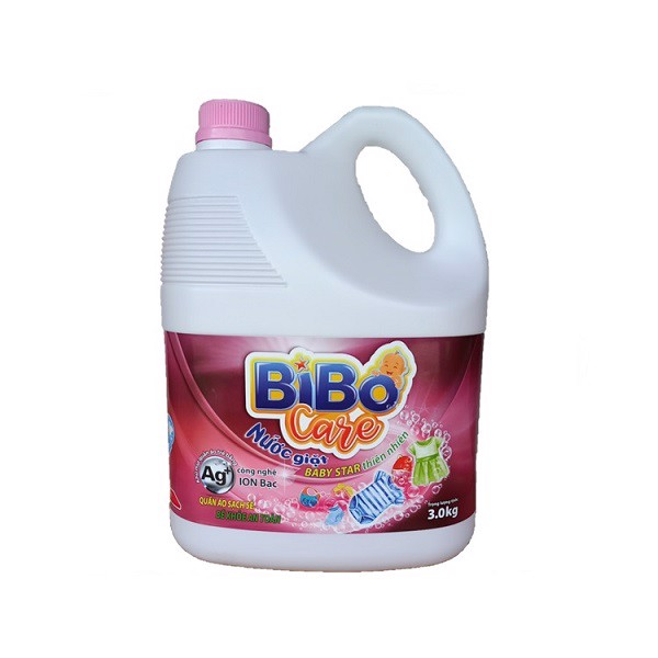 Nước Giặt Bibo Care Baby Star Thiên Nhiên 3kg