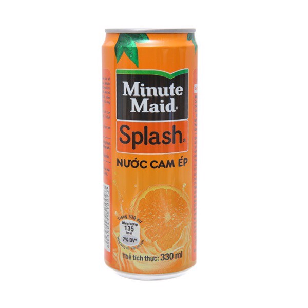 Nước Cam Ép Minute Maid Splash Sleek 320ml