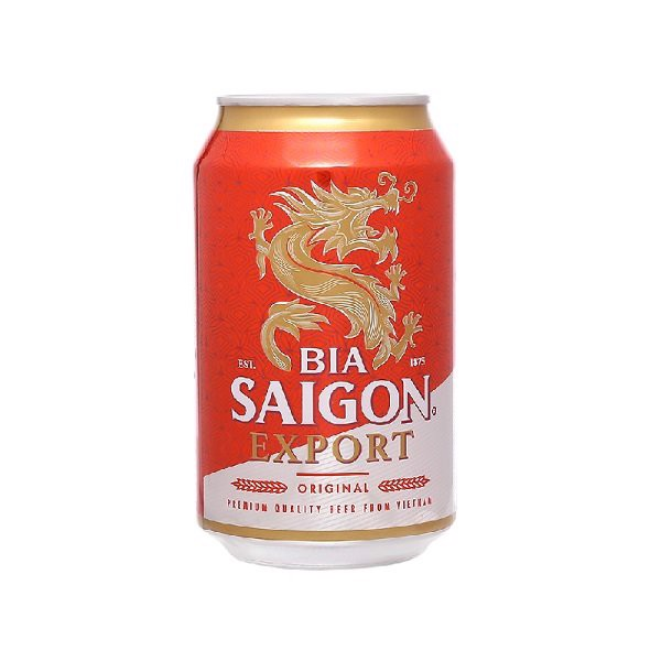 Bia Lon Saigon Export 330ml