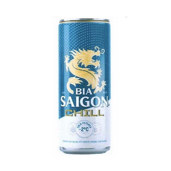 Bia Lon Saigon Chill 330ml