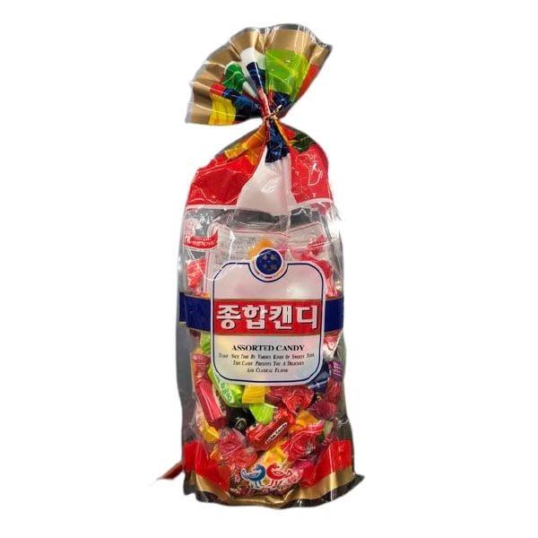 Kẹo Túm Cứng Arriang Vị Trái Cây 500g