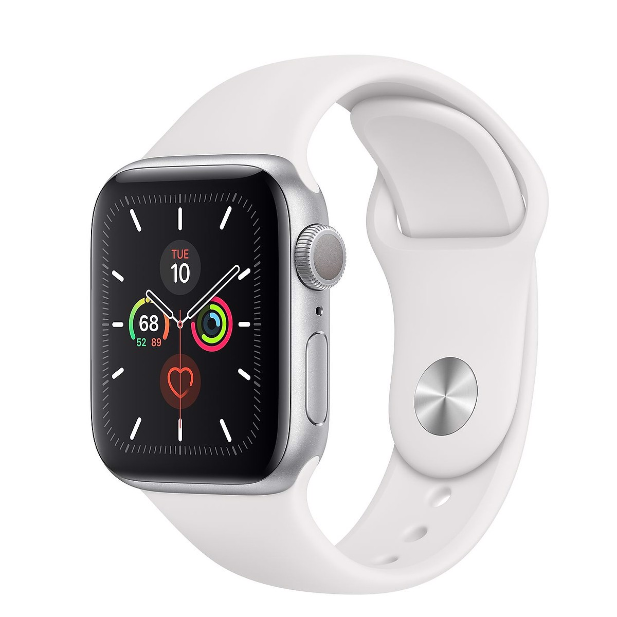 Đồng Hồ Apple Watch S5 40mm Silver Alu/White