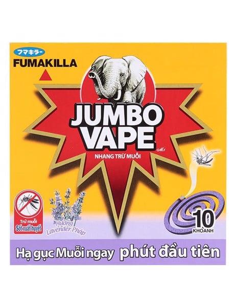 Nhang Muỗi Jumbo Vape Super V Lavender 10K