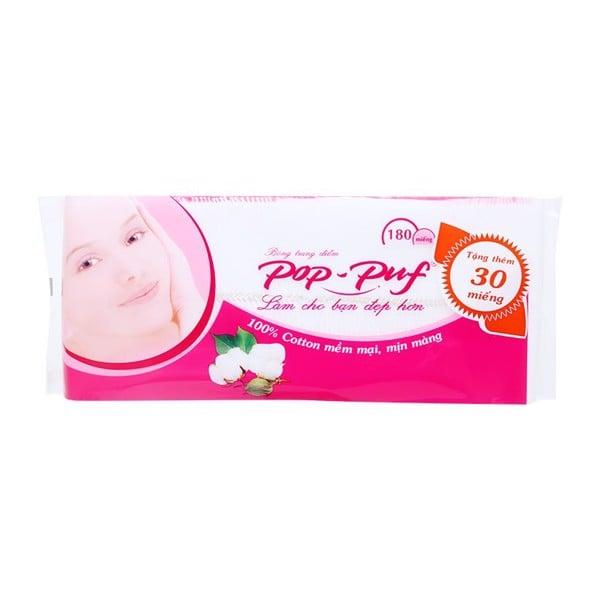 Bông Trang Điểm Pop-Puf 180 Miếng