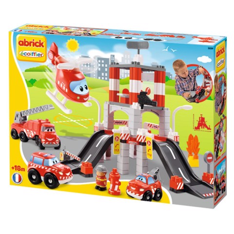 ECOIFFIER 003039 SÂN BAY TÍ HON | Ecoiffier Fire and Rescue Station Playset 003039