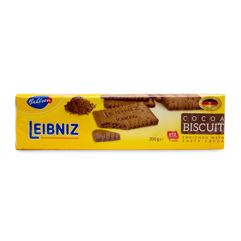 Bánh Quy Ca Cao LEIBINZ Cocoa Biscuit 200G