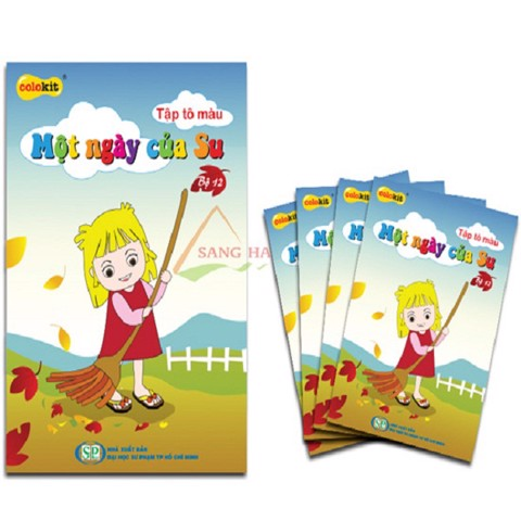 TẬP TÔ MÀU CB-012 | Thien Long CB-012 / DO Coloring Book