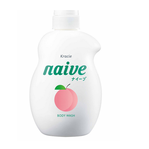 Sữa Tắm Lá Đào Naive 530ml | Naive Peach Leaf Shower Gel 530ml