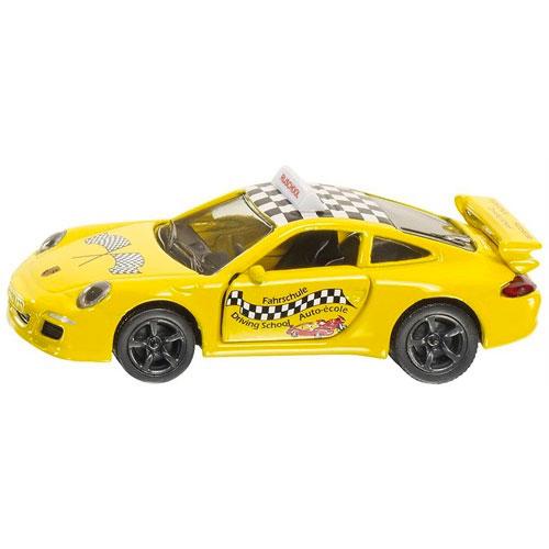 SIKU 1457 XE TẬP LÁI PORSCHE 911   SIKU Porsche 911 Driving school 1457
