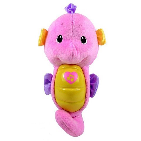 PNC FISHER PRICE DGH83 CÁ NGỰA RU NGỦ-HỒNG | DGH83 FISHER PRICE SLEEP INDUCING SEAHORSE - PINK