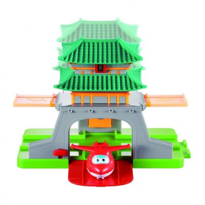 S.W YW710811 BỘ TẠI SEOUL VỚI JETT T.CHỚP | Super Wings Jett the Bolt at Seoul Set