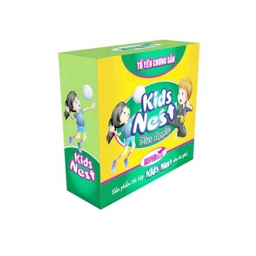 TỔ YẾN ANPHA KID NEST PLUS APPLE 6 HŨ *70ML