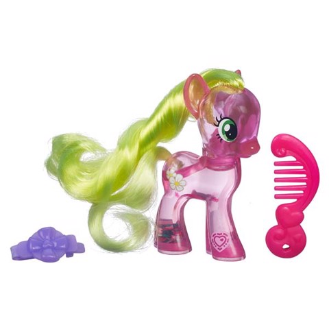 LITTLE PONY B5415/B0357 PONY TRONG SUỐT-Flower WISHES | My Little Pony Explore Equestria Water Cuties Flower Wishes Figure B0357