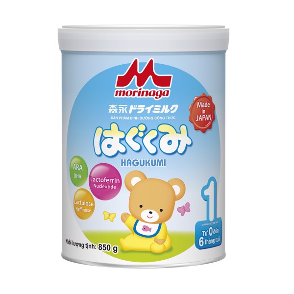Sữa Morinaga Hagukumi Cho Trẻ Từ 0-6 Tháng 850g