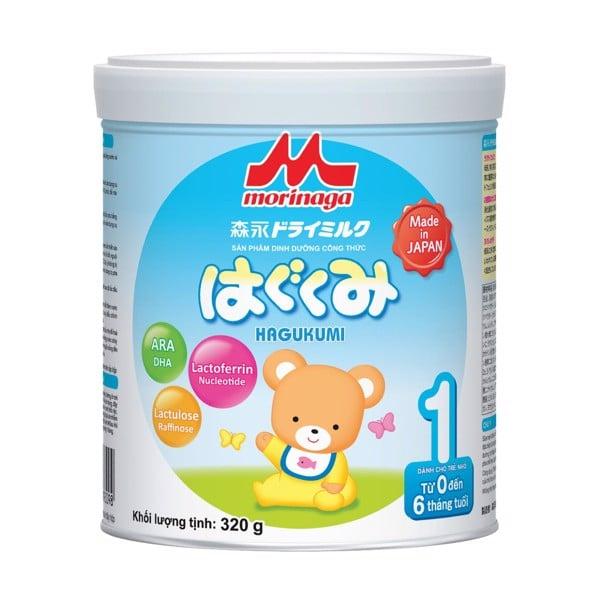 Sữa Morinaga Hagukumi Cho Trẻ Từ 0-6 Tháng 320g