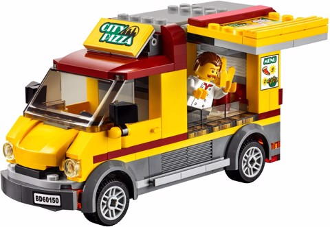 60150 XE PIZZA | LEGO City Pizza Van 60150