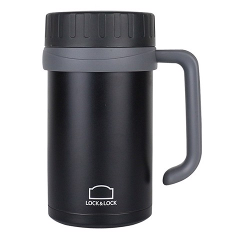 Cốc Giữ nhiệt Basic Table Mug Lock & Lock 500ml 68MM | LOCK&LOCK Basic Outdoor Mug Cup 500ML 68MM