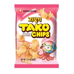 Snack Tako Nongshim Octopus Flavored Chips 60g