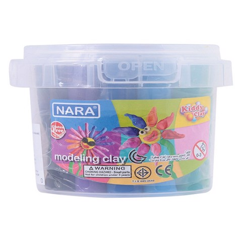 ĐẤT NẶN 12 MÀU 200G BK-200-12 | 12 Kiddy Clay Balls The Kiddy Clay BK-200-12 (200G)