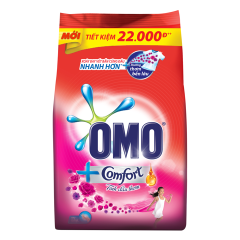 BOT GIAT OMO CF TDT DIEU KY 720G | OMO CF MARVELOUS WASHING POWDER 720G