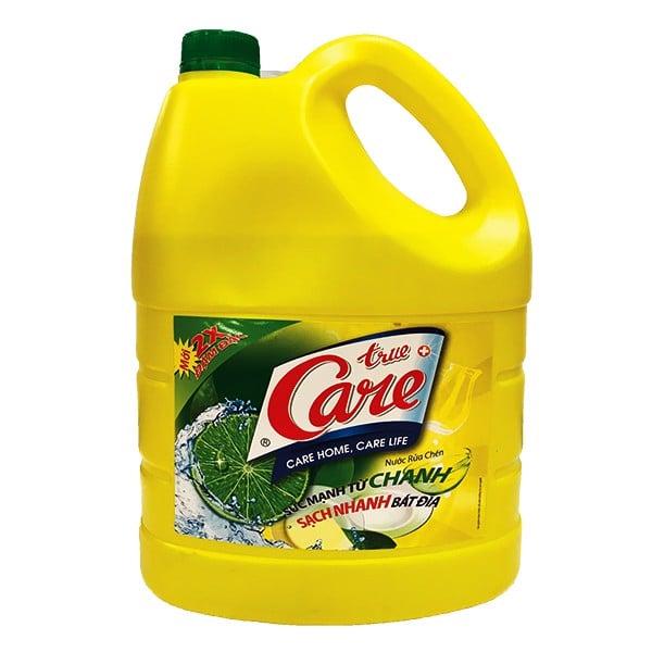 Nước Rửa Chén True Care Hương Chanh 4kg
