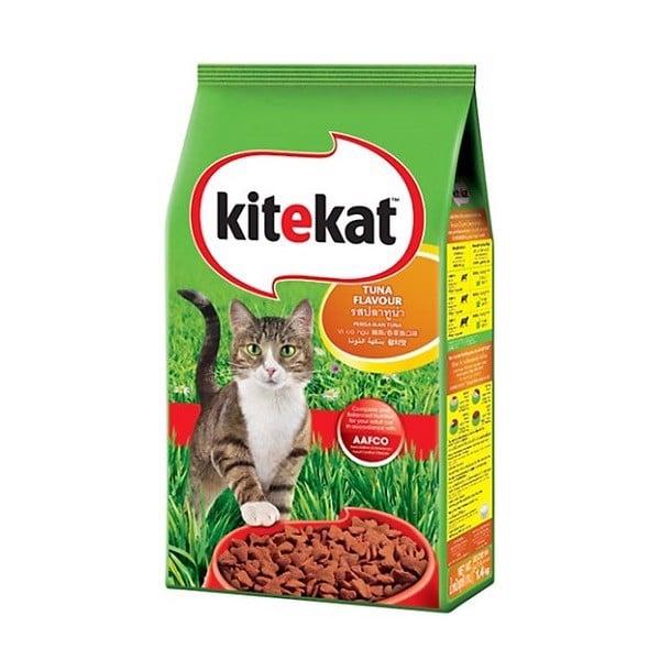 Thức Ăn Mèo Vị Cá Ngừ Kitekat Túi 1.4kg