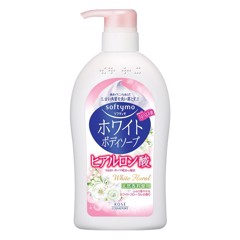 Sữa Tắm Kosé Cosmeport Softymo White Body Soap (White Floral) 600ml