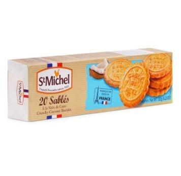Bánh Quy Bơ St Michel Sables Dừa (120g)