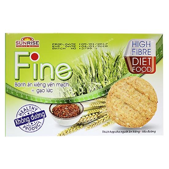 Bánh Ăn Kiêng Fine Yến Mạch Gạo Lứt - Hộp 178g - 01968279,261_1017481267,51900,aeoneshop.com,Banh-An-Kieng-Fine-Yen-Mach-Gao-Lut-Hop-178g-261_1017481267,Bánh Ăn Kiêng Fine Yến Mạch Gạo Lứt - Hộp 178g