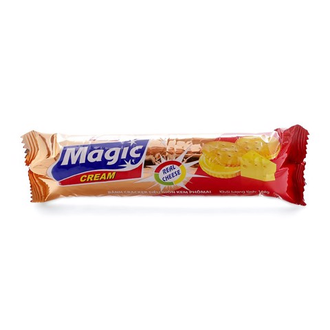 Bánh Magic Cracker Kem Phô Mai 108g