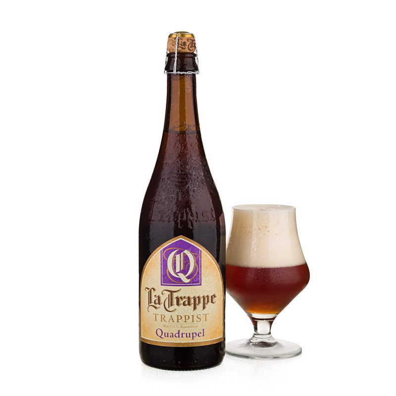 Bia La Trappe Quadrupel 10% (330ml)