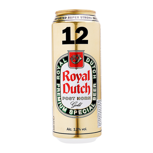 Bia Royal Dutch Gold Super Strong - 12% - (500ml)