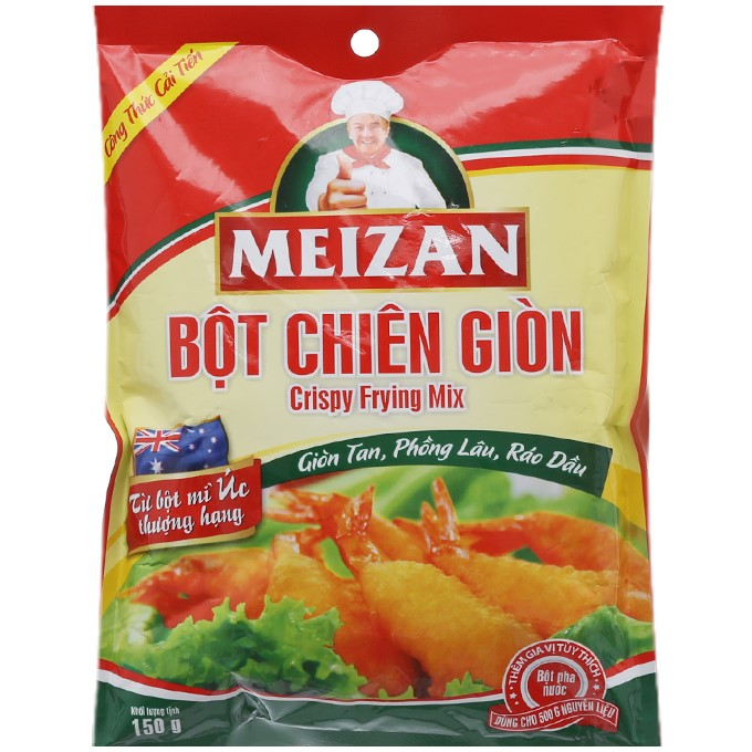 Bột Chiên Giòn Meizan - Gói 150g - 01202083,261_1016740539,9500,aeoneshop.com,Bot-Chien-Gion-Meizan-Goi-150g-261_1016740539,Bột Chiên Giòn Meizan - Gói 150g