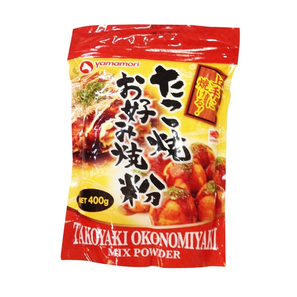 Bột Làm Bánh Takoyaki & Okonomiyaki Mix Powder (400g)