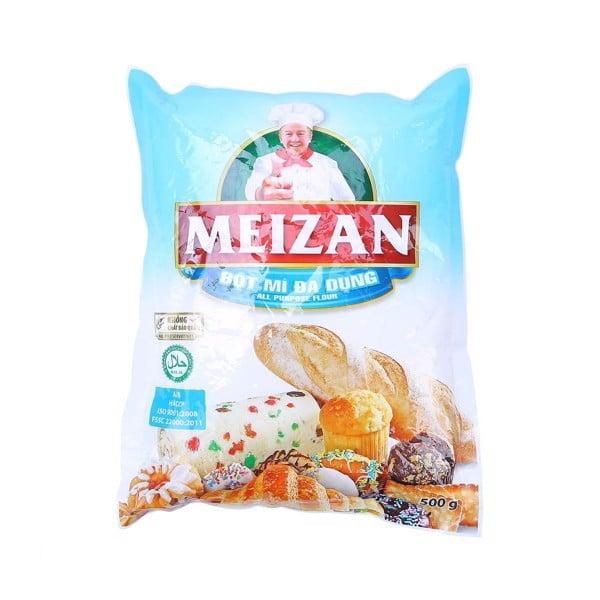 Bột Mì Đa Dụng Meizan - Gói 500g