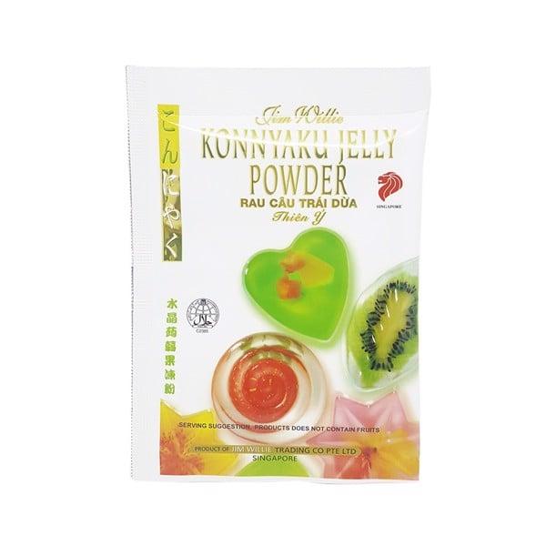 Bột Rau Câu Trái Dừa Jelly Thiên Ý - Gói 10g