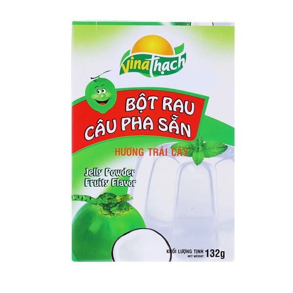 Bột Rau Câu Pha Sẵn Hương Dừa Vina Thạch - Hộp 132g