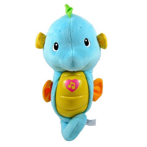 PNC FISHER PRICE DGH82 CÁ NGỰA RU NGỦ-XANH | PNC DGH82 FISHER PRICE BLUE SLEEP INDUCING SEAHORSE