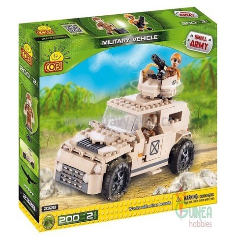 TLM COBI 2328 LẮP RÁP XE JEEP | TLM COBI 2328 JEEP ASSEMBLY TOY