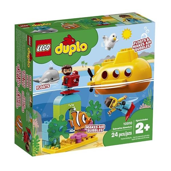 Bộ Lắp Ráp Lego Duplo - Tàu Ngầm Khám Phá Đại Dương 10910
