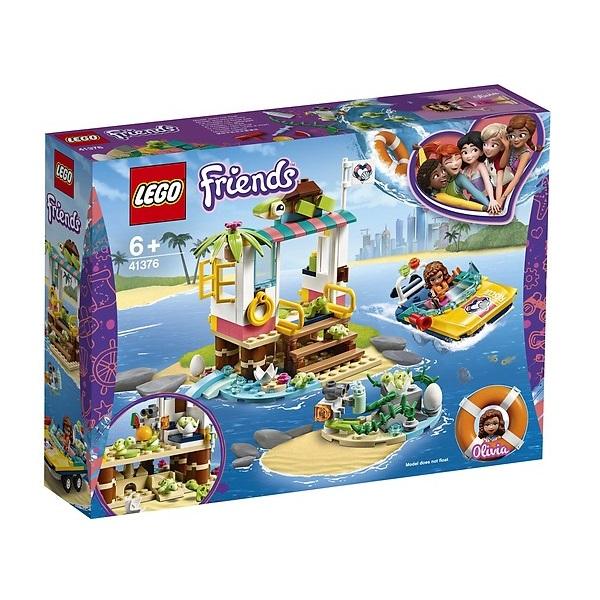 Mô Hình Lego Friends - Trạm Giải Cứu Rùa Biển 41376