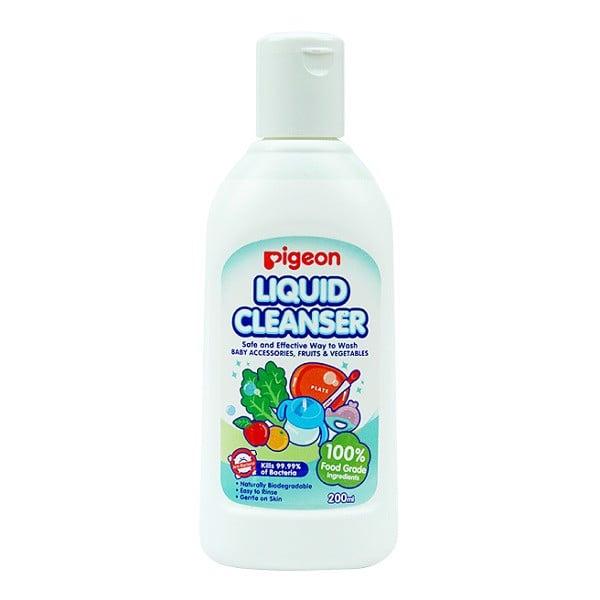 Nước Rửa Bình Sữa Pigeon Liquid Cleanser 200ml 12958