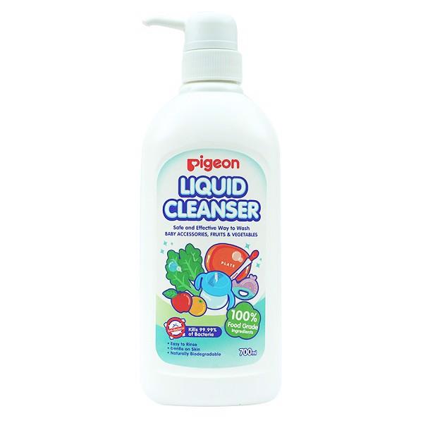 Nước Rửa Bình Sữa Pigeon Liquid Cleanser 700ml 12960