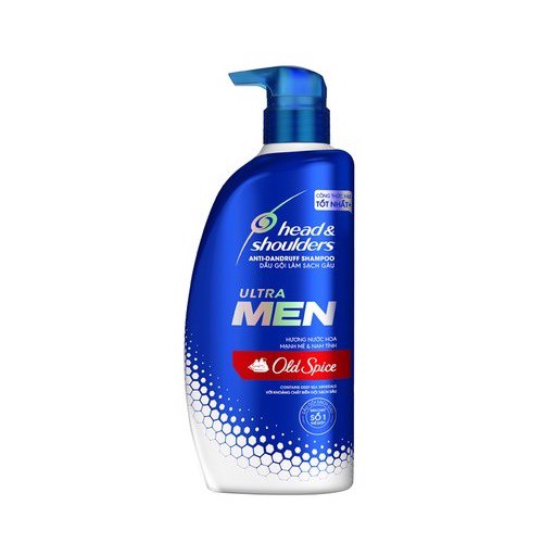 Dầu Gội Head & Shoulders Ultra Men Hương Old Spice - Chai 550ml