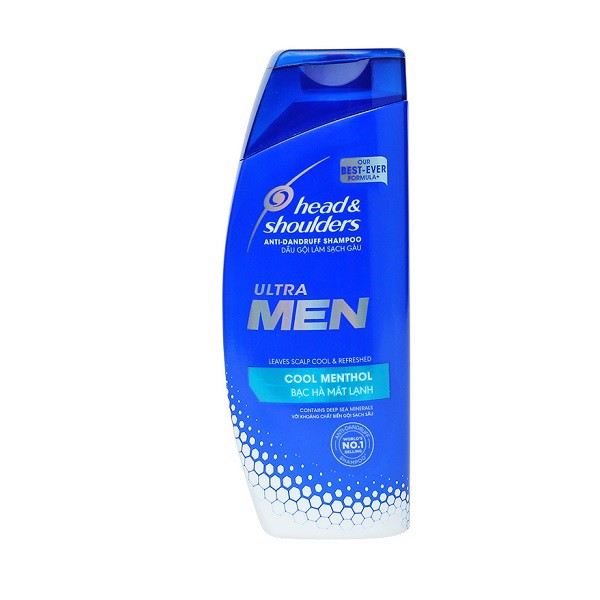 Dầu Gội Head & Shoulders Ultra Men Bạc Hà (315ml)